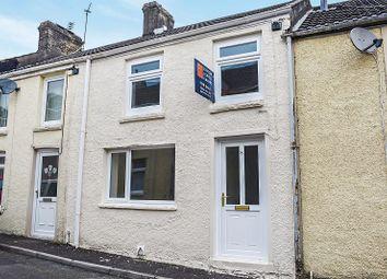 Thumbnail 3 bed terraced house for sale in Llynfi Street, Tondu, Bridgend.