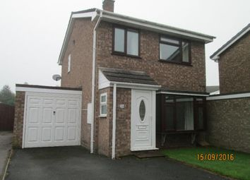 Thumbnail 3 bed detached house to rent in Elton Way, Staffordshire