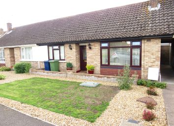 Thumbnail 2 bed terraced bungalow for sale in Morton Avenue, March