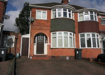 Thumbnail 3 bedroom semi-detached house to rent in Sandringham Road, Great Barr, Birmingham