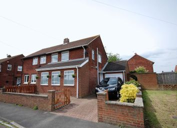 Thumbnail 3 bed semi-detached house for sale in East Acres, Widdrington, Morpeth