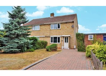 Thumbnail 2 bed semi-detached house for sale in Ordelmere, Letchworth Garden City