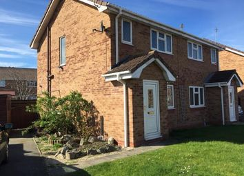 Thumbnail 2 bed semi-detached house for sale in Lon Glanfor, Abergele, Conwy