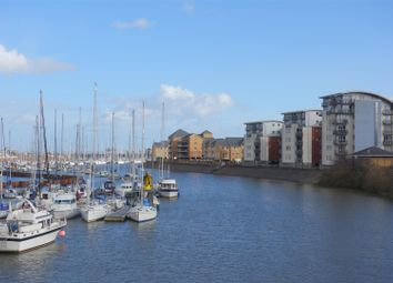 Thumbnail 1 bed flat for sale in Ty Gwalia, Pierhead View, Penarth Marina