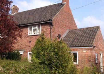 Thumbnail 3 bed semi-detached house for sale in Castle Close, Gresham, Norwich