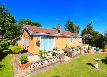 Thumbnail 3 bed detached bungalow for sale in St. Davids Close, Leicester Forest East, Leicester
