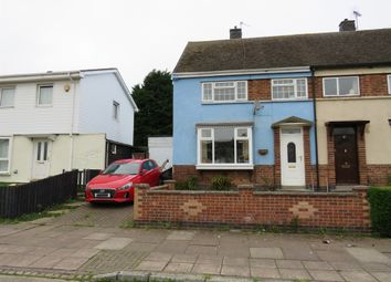 Thumbnail 3 bed semi-detached house for sale in Dillon Road, New Parks, Leicester