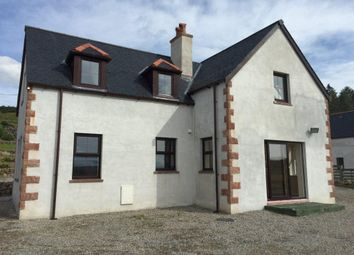 Thumbnail 3 bed detached house for sale in Saval Road, Lairg, Sutherland