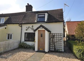 Thumbnail 1 bedroom semi-detached house for sale in Haverhill Road, Castle Camps, Cambridge