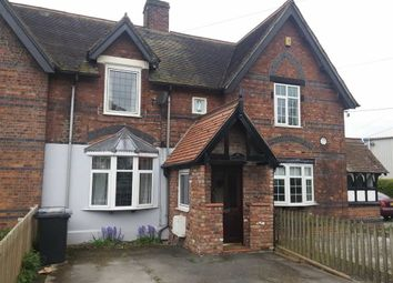 Thumbnail 2 bed cottage to rent in Warmingham Road, Crewe, Cheshire