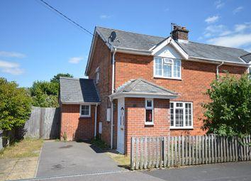 Thumbnail 3 bed semi-detached house for sale in Pound Road, Pennington, Lymington