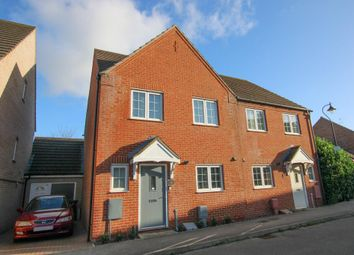 Thumbnail 3 bed semi-detached house for sale in Tilling Way, Littleport, Ely