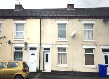Thumbnail 2 bedroom terraced house for sale in Princess Street, Burton-On-Trent