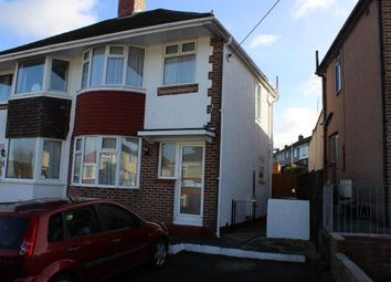 Thumbnail 3 bed semi-detached house for sale in Valiant Avenue, Plymouth
