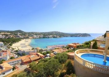 Thumbnail 3 bed villa for sale in Santa Ponsa, Balearic Islands, Spain