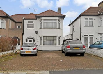 Thumbnail 4 bed semi-detached house for sale in Clayhall Avenue, Ilford, Essex