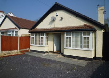 Thumbnail 3 bed bungalow to rent in 8 Ashlea Road, Pensby, Wirral