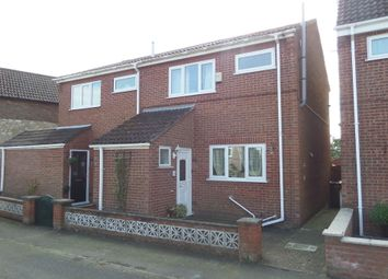 Thumbnail 2 bed semi-detached house for sale in Grove Street, Kirton Lindsey, Gainsborough