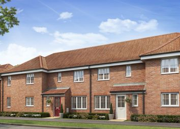 "Thumbnail 3 bedroom terraced house for sale in ""The Hanbury"" at Market View, Dorman Avenue South, Aylesham, Canterbury"