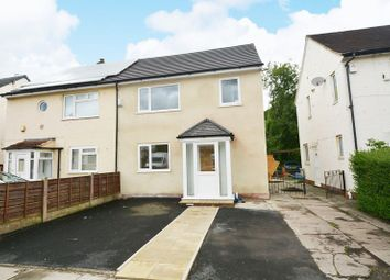 Thumbnail 3 bed semi-detached house for sale in Belsay Drive, Newall Green, Manchester