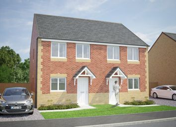 Thumbnail 3 bed semi-detached house for sale in The Tyrone, Shieldrow Park, Shieldrow Lane, New Kyo, Stanley, County Durham