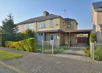Thumbnail 3 bedroom semi-detached house for sale in Mill Road, Impington