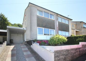 Thumbnail 2 bedroom semi-detached house for sale in Kennel Hill Close, Plympton, Plymouth