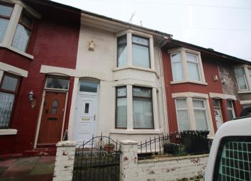 Thumbnail 3 bedroom terraced house to rent in Sidney Road, Bootle