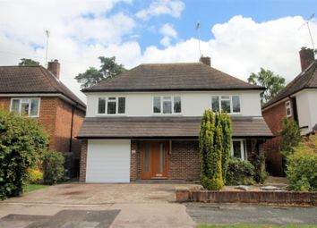 Thumbnail 4 bed detached house for sale in Hamilton Avenue, Pyrford, Woking