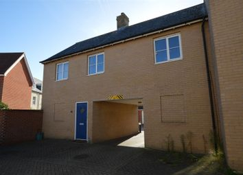 Thumbnail 2 bed flat for sale in John Hammond Close, Colchester