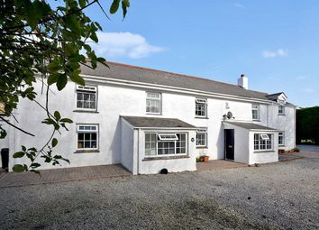 Thumbnail 7 bed farmhouse for sale in Mithian Downs, St. Agnes
