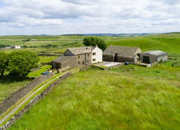 Thumbnail 5 bed farmhouse for sale in Chain Road, Holt Head, Slaithwaite