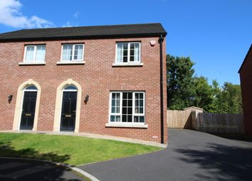 Thumbnail 3 bed semi-detached house for sale in Rhanbuoy Mews, Carrickfergus