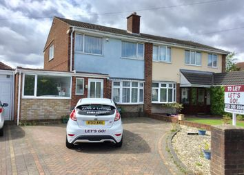 Thumbnail 3 bedroom semi-detached house to rent in Rose Drive, Brownhills