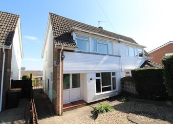 Thumbnail 3 bedroom semi-detached house for sale in Northfield Road, Caerleon, Newport