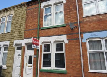 Thumbnail 2 bed terraced house for sale in Stuart Street, Leicester