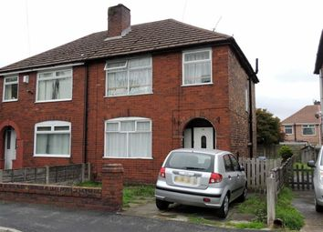 Thumbnail 3 bed semi-detached house for sale in Agecroft Road, Pendlebury, Manchester