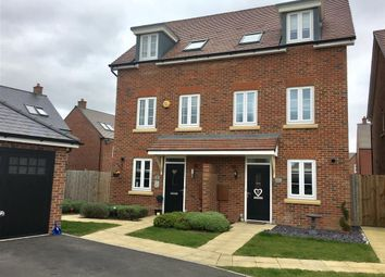 Thumbnail 3 bed town house for sale in The Jumps, Marston Moretaine, Bedford