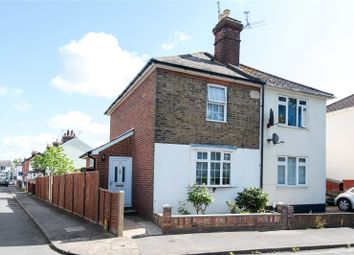 Thumbnail 3 bed semi-detached house for sale in Laburnum Road, Chertsey, Surrey