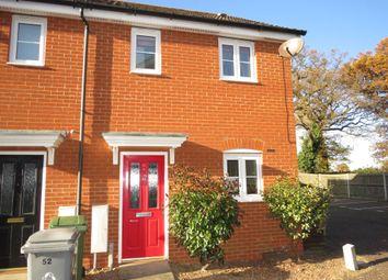Thumbnail 2 bedroom end terrace house for sale in Mountbatten Drive, Sprowston, Norwich