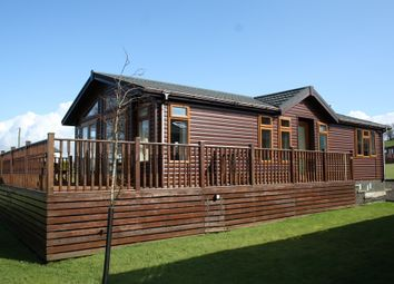 Thumbnail 2 bed lodge for sale in 3 Roseland Lodge Park, Rothesay, Isle Of Bute