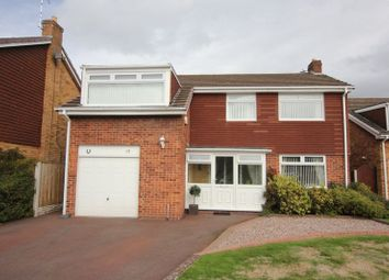 Thumbnail 4 bed detached house for sale in Lawns Avenue, Raby Mere, Wirral