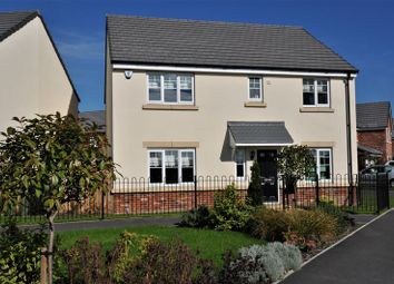 Thumbnail 4 bed detached house for sale in Cotton Field Road, Holmes Chapel, Crewe