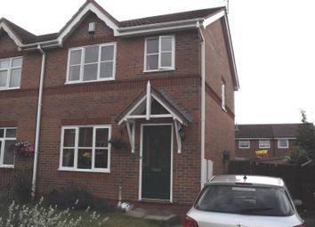 Thumbnail 3 bed semi-detached house to rent in Redstone Drive, Winsford