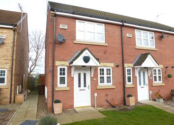 Thumbnail 2 bedroom end terrace house for sale in Flanders Red, Hull