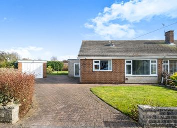 Thumbnail 2 bed detached bungalow for sale in Eddison Close, Worksop