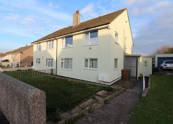 Thumbnail 2 bed flat for sale in Shortwood Crescent, Plymstock, Plymouth