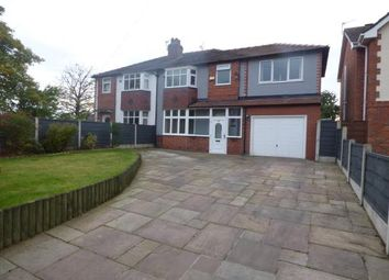 Thumbnail 4 bed semi-detached house for sale in Stanley Mount, Sale, Trafford, Greater Manchester