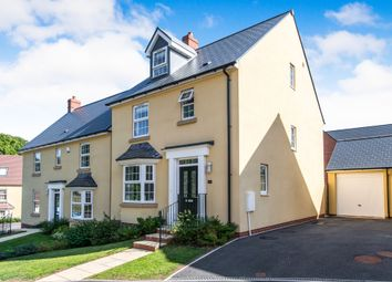Thumbnail 4 bed semi-detached house for sale in Sluggett Place, Exeter