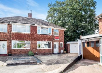 Thumbnail 3 bed semi-detached house for sale in Highlands Close, Warwick